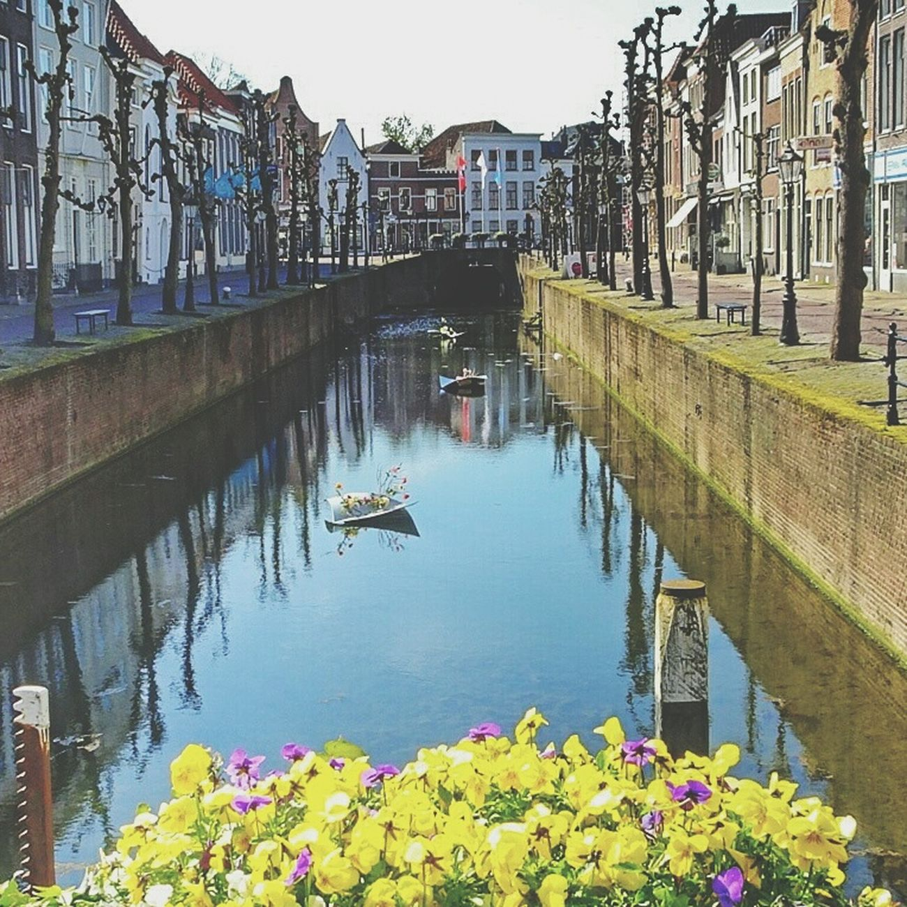 Canal Waterbrilliance Taking Photos Historical Buildings Enjoying Life Reflections In The Water Beautiful Flowers