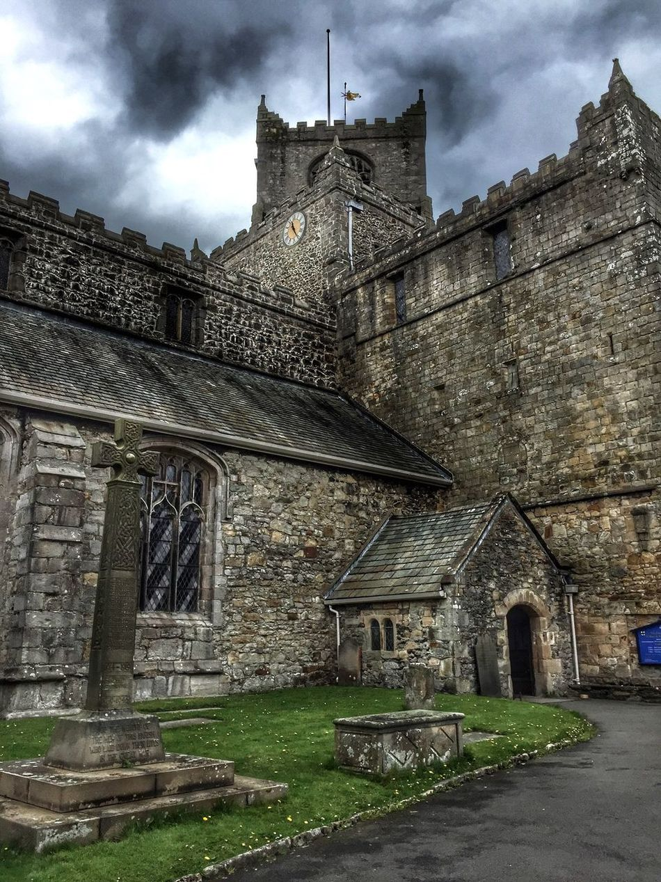 The Priory! Architecture History Built Structure Building Exterior Sky Cloud - Sky Old Religion The Past Place Of Worship Spirituality Castle No People Ancient Travel Destinations Old Ruin Day Outdoors Ancient Civilization Cartmel Priory Sticky Toffee Pudding Sunshine Walking Green Grass