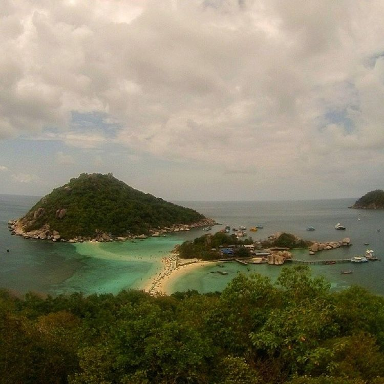 Nangyuan from the view point. Thailand Gopro Hero3