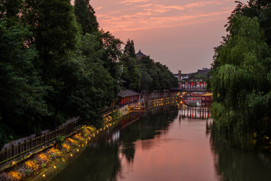 Sanhe, ANhui, China Ancient Anhui Arch Bridge Architecture Bridge Bridge - Man Made Structure China Chinese Culture Dusk Footbridge Idyllic Reflection Sanhe Scenics Taking Photos Tranquil Scene Tranquility Village Water