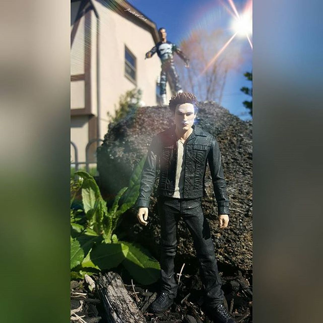 """ I don't know what you are you murderous sparkly reptile but it ends here"" Punisher EdwardCullen Frankcastle Twilight Ohiotoykick Ohiogram Toyoutsiders"