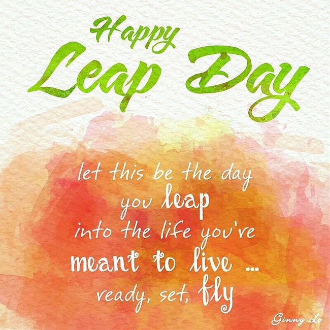 """Happy Leap Day everyone. What are u going to spend your extra day? I have to be at school until 9PM, only a few hours left for watching my fav movie """"Leap Year"""" 😘 Leap Day Leap Year Day 366 Extra Day"""