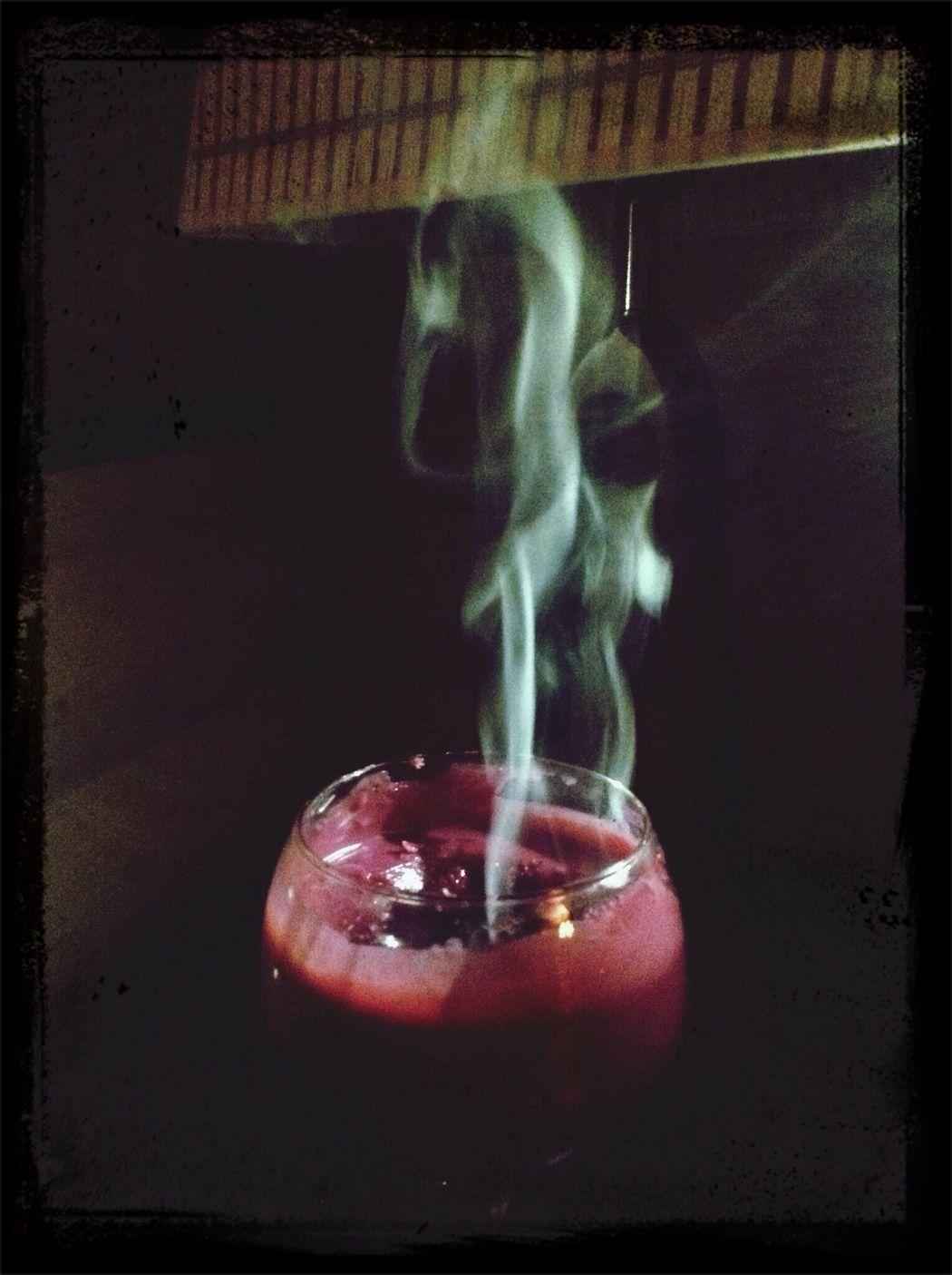 Candle Smoke Enjoying Life Hello World