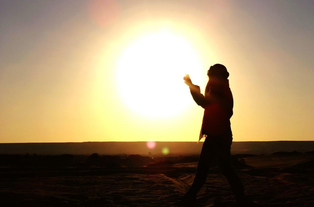 Beautiful stock photos of sunset, Beauty In Nature, Field, Full Length, Idyllic