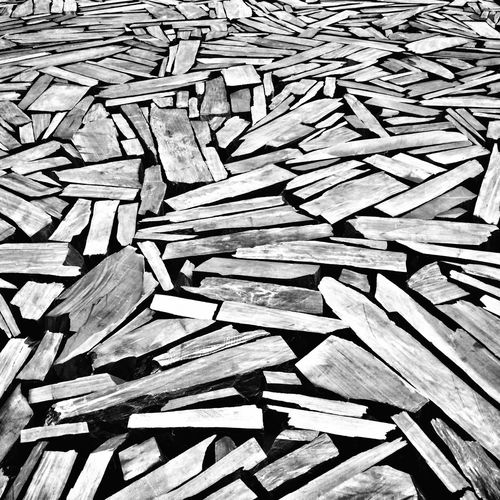 Some lumber...nicely arranged. Eye4photography  Shootermag Black And White Art IPhoneography IPSPatterns
