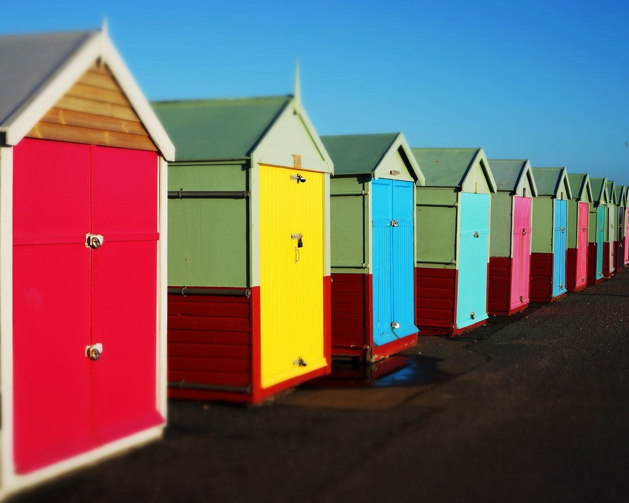 Hove Beach Huts First Eyeem Photo