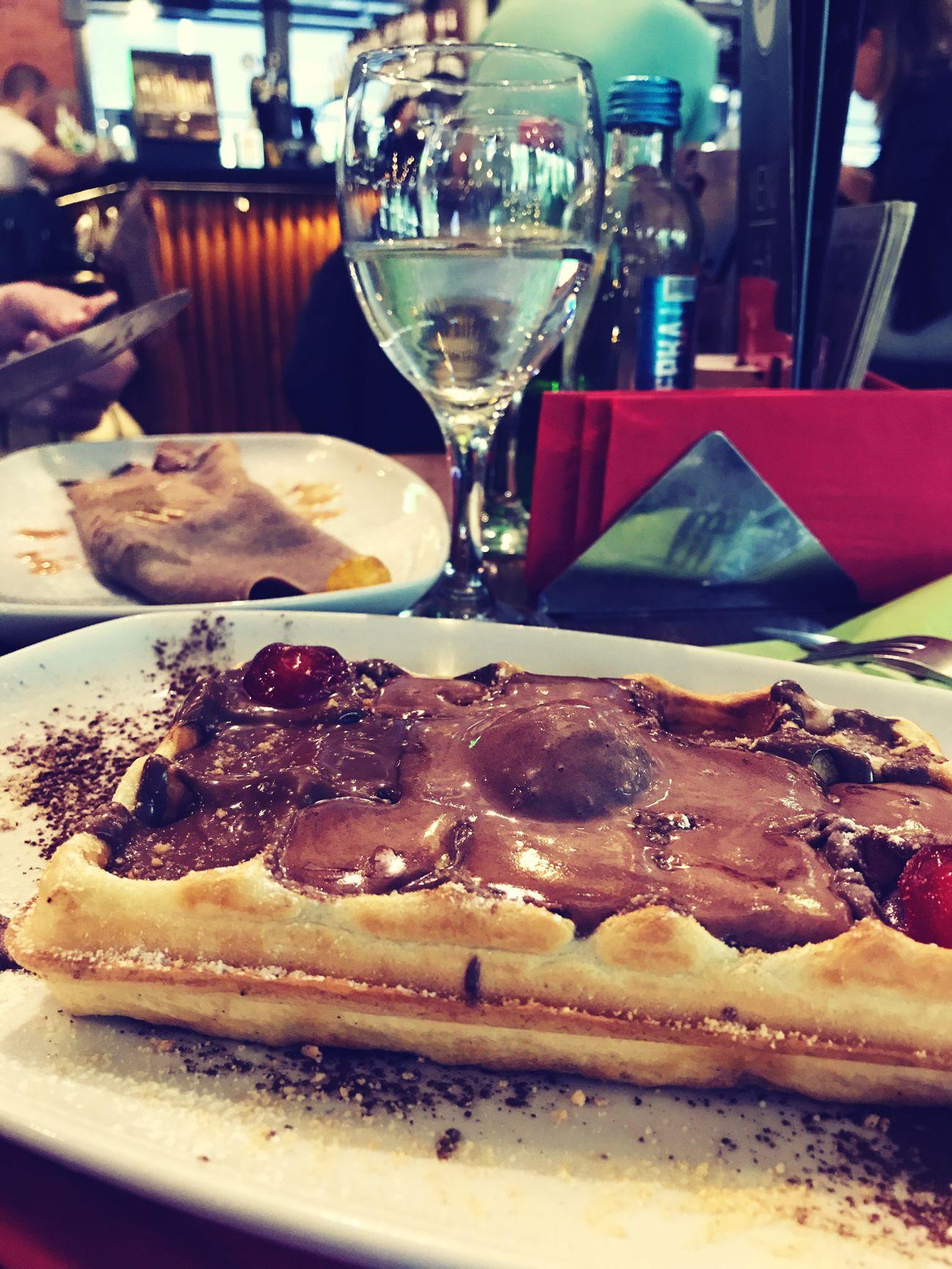 Vaffel Chocolate Nutella Dessert