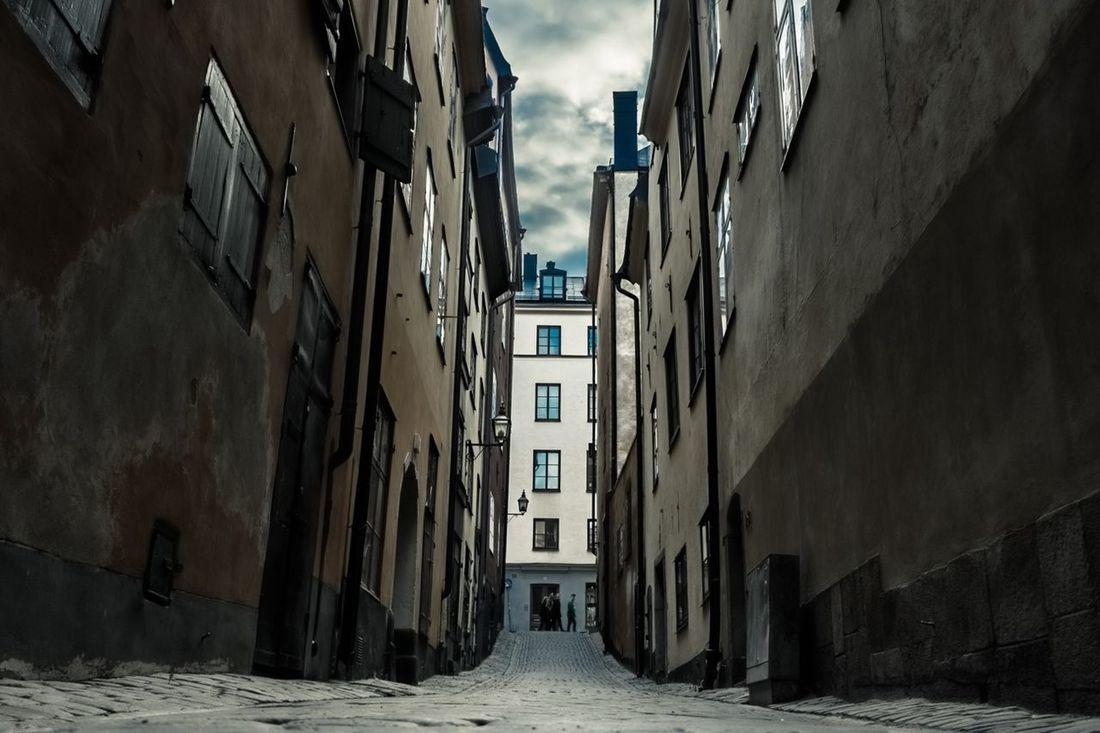 Stockholm Ground Level View