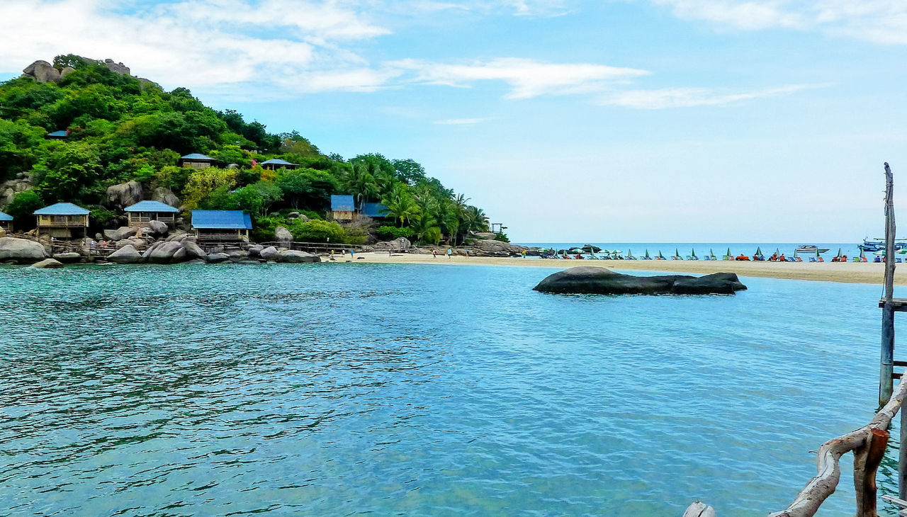 Beach Blue Island Nangyuan Nangyuan Island Sea Travel Tropical Climate Tropical Island Water