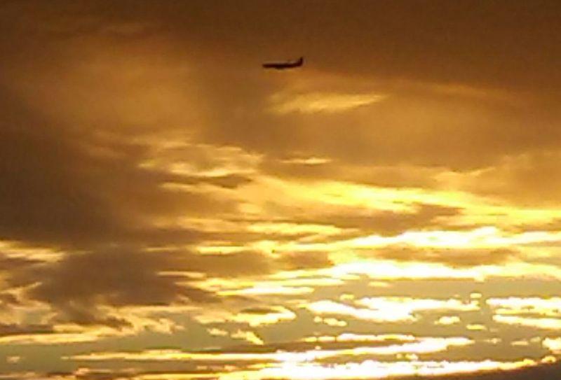 Seattle sun set