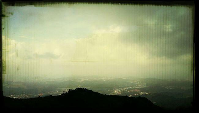 Traveling Taiwan Mountain Skyline