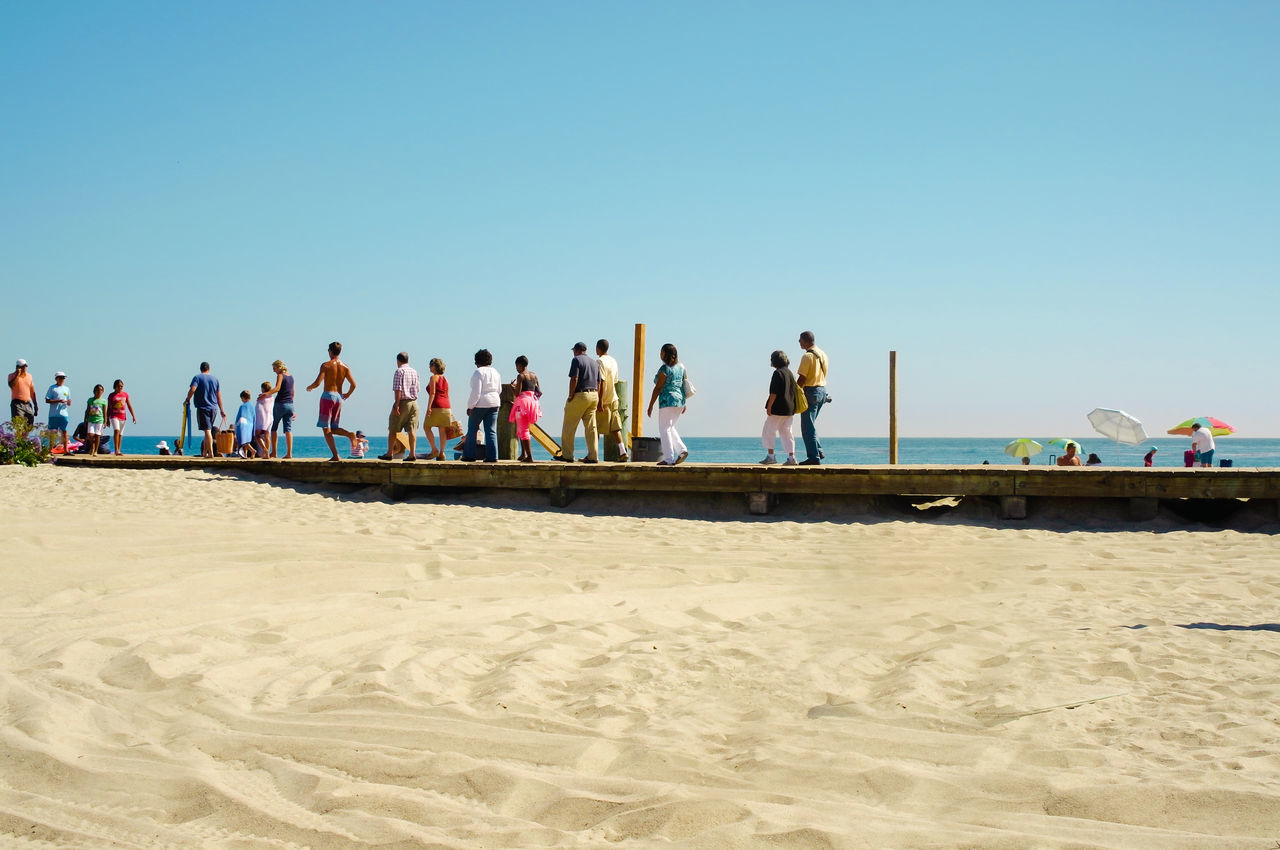 Beautiful stock photos of los angeles, Beach, Blue, Boardwalk, Casual Clothing