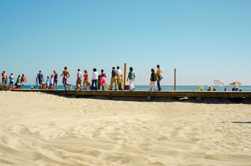 Beautiful stock photos of los angeles, Beach, Blue, Boardwalk, Casual Clothing