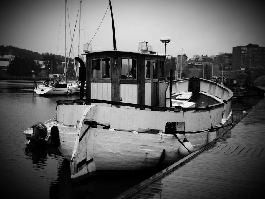 Due to the weather and general laziness, not so many photos were taken this weekend.... 😬 Nautical Vessel Moored Transportation Mode Of Transport Water Boat Built Structure No People Architecture Building Exterior Mast Outdoors Sky Trawler Harbor Day Nature Yacht Monochrome Blackandwhite Black And White Black & White Shallow Depth Of Field