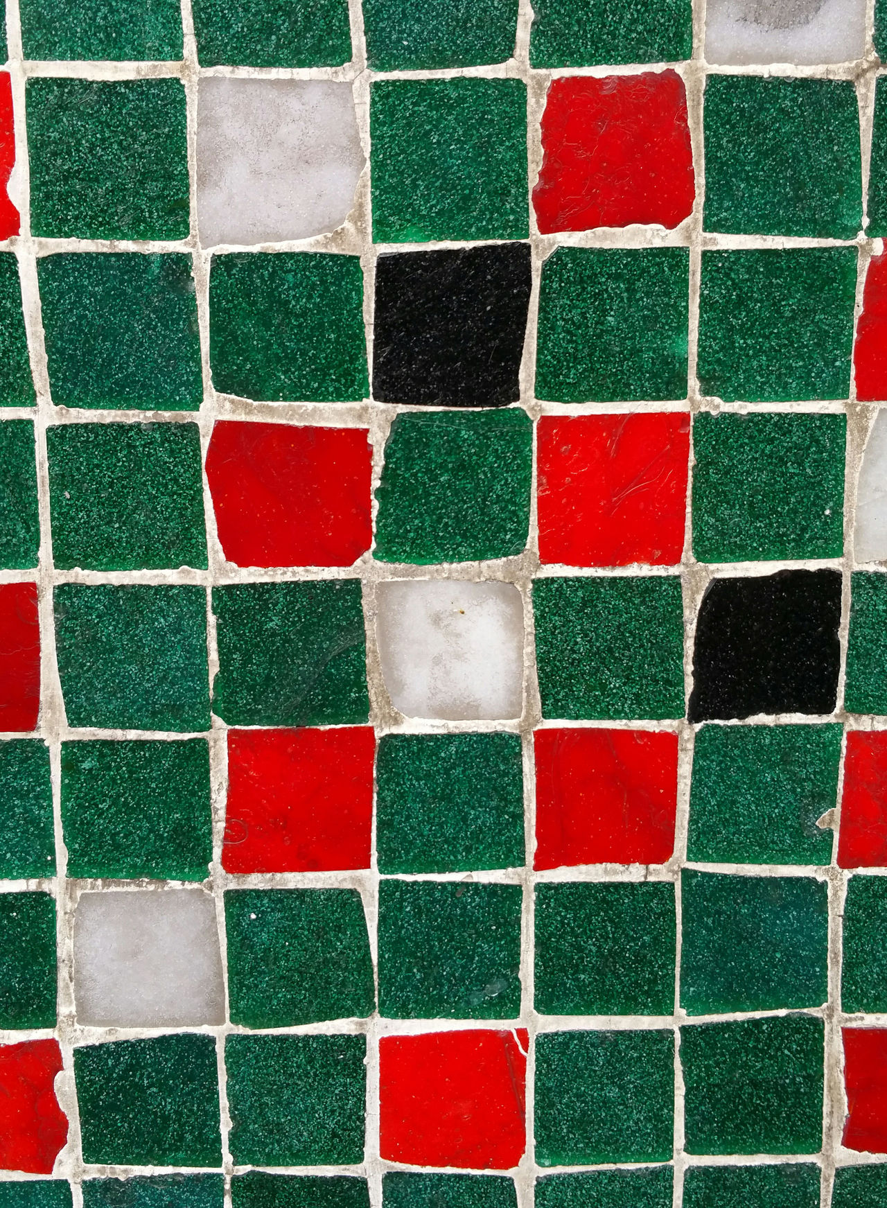 Full Frame Backgrounds Red Multi Colored Close-up No People Day Tiles Abstract Red Green Squares And Rectangles Squares