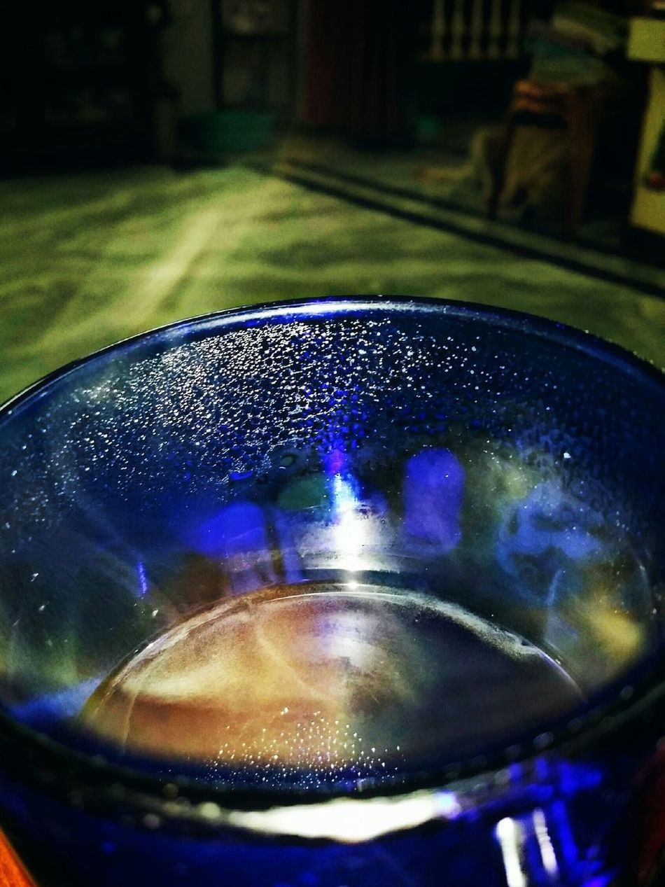 Vapour Reflection Water Glass - Material Randomphotography Colors