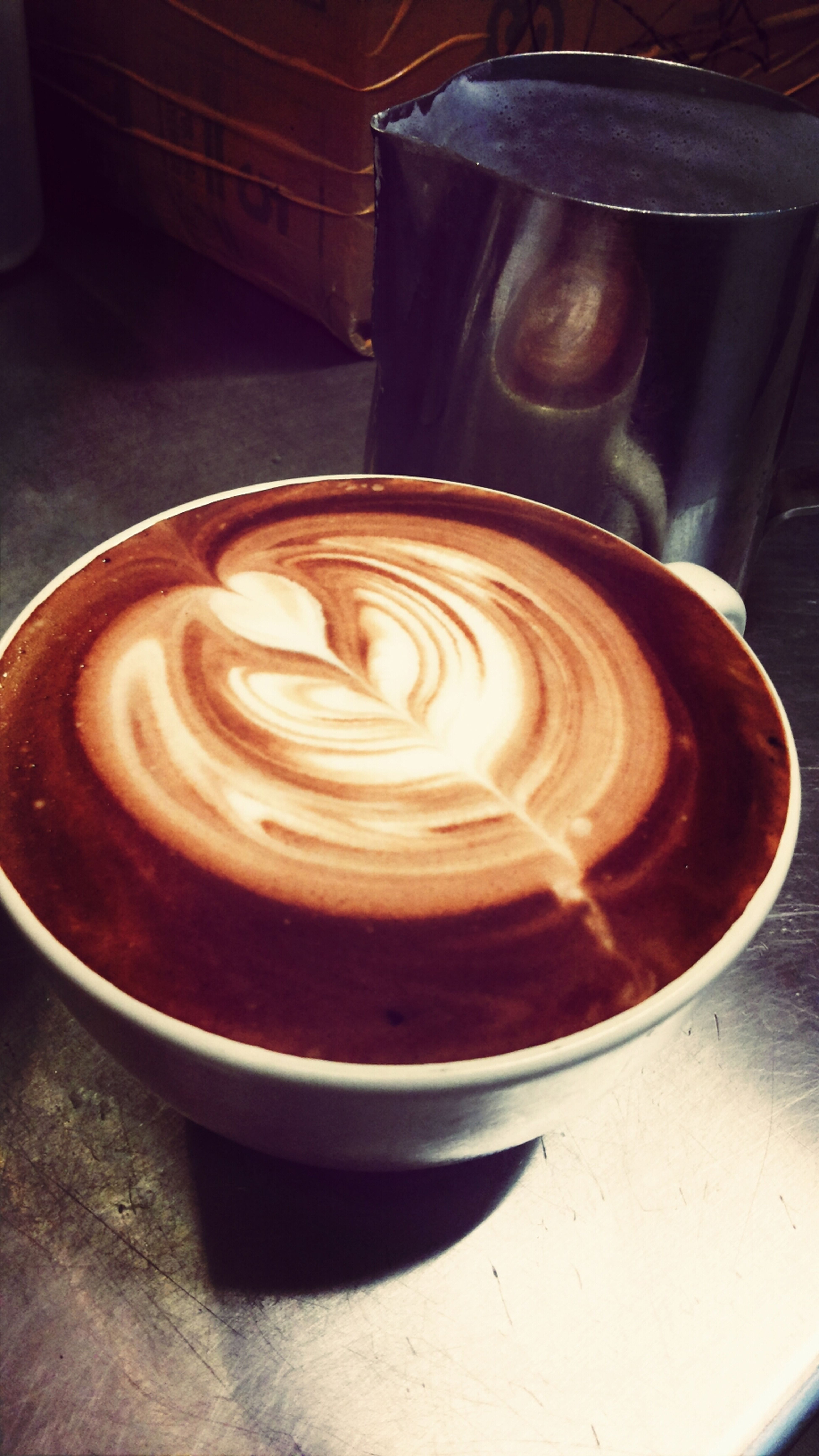 Madebyme Chocpucinno Latteart Blackcanyon Coffee