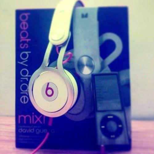 BEATS BeatsAudio Mixr Davidguetta edition headphones excellent sound ipod nano5g hdr akash iitg