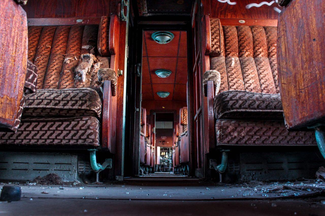 Train Old Urbex Urbexphotography Urban Exploring Urban Exploration Train Station Trainwreck Architecture No People Interior Design The Architect - 2017 EyeEm Awards