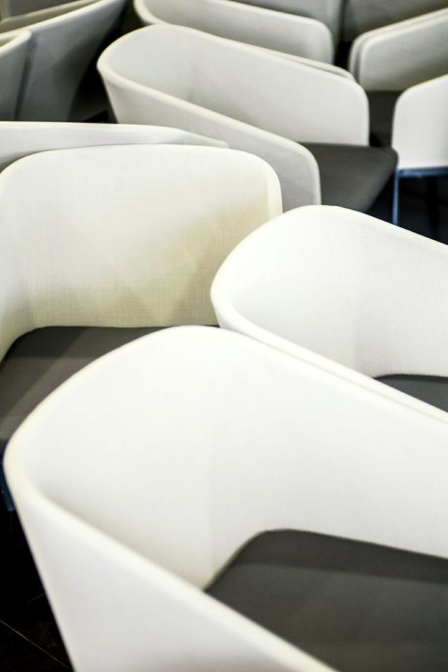 Dance of chairs Textures And Surfaces Light And Shadow Open Edit Lines And Shapes Color Chairs Rows Of Things Curves