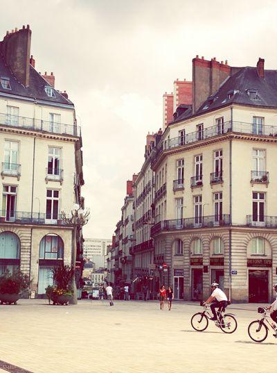Nantes Taking Photos Relaxing Loire Atlantique