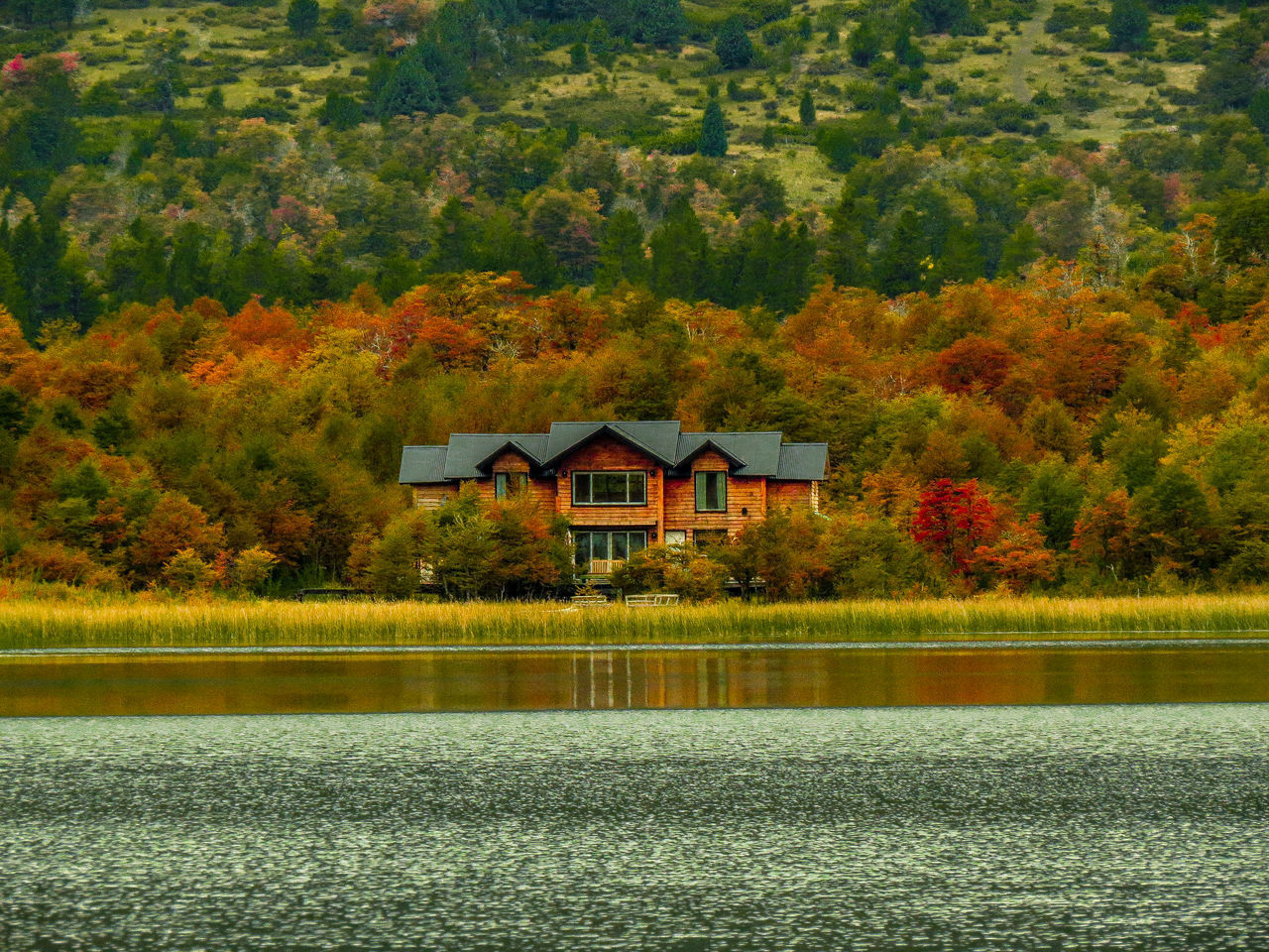 Architecture Auntumn Auntumn Colors Autumn Beauty In Nature Building Exterior Built Structure Canonphotography Day EyeEm Gallery EyeEmDiversity EyeEmNewHere Lake Mountain Nature No People Outdoors Scenics Sky Tranquility Tree Water