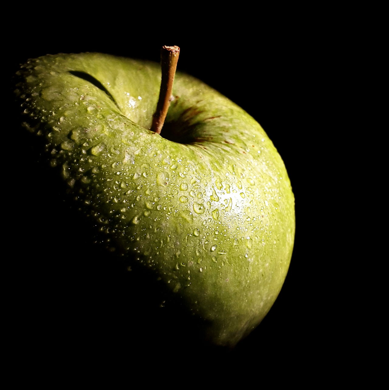 Beautiful stock photos of granny, Apple - Fruit, Black Background, Close-Up, Cut Out