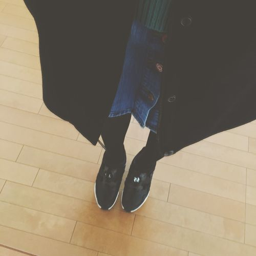 today○1年生もそろそろ終わりかー。 Ootd Outfit Today Fashion Puma Student Kobe University 神戸大学 大学生