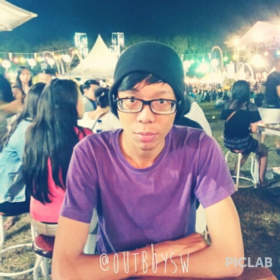 In the middle of Sanur Village Festival 2014 crowd Food Festival Bali