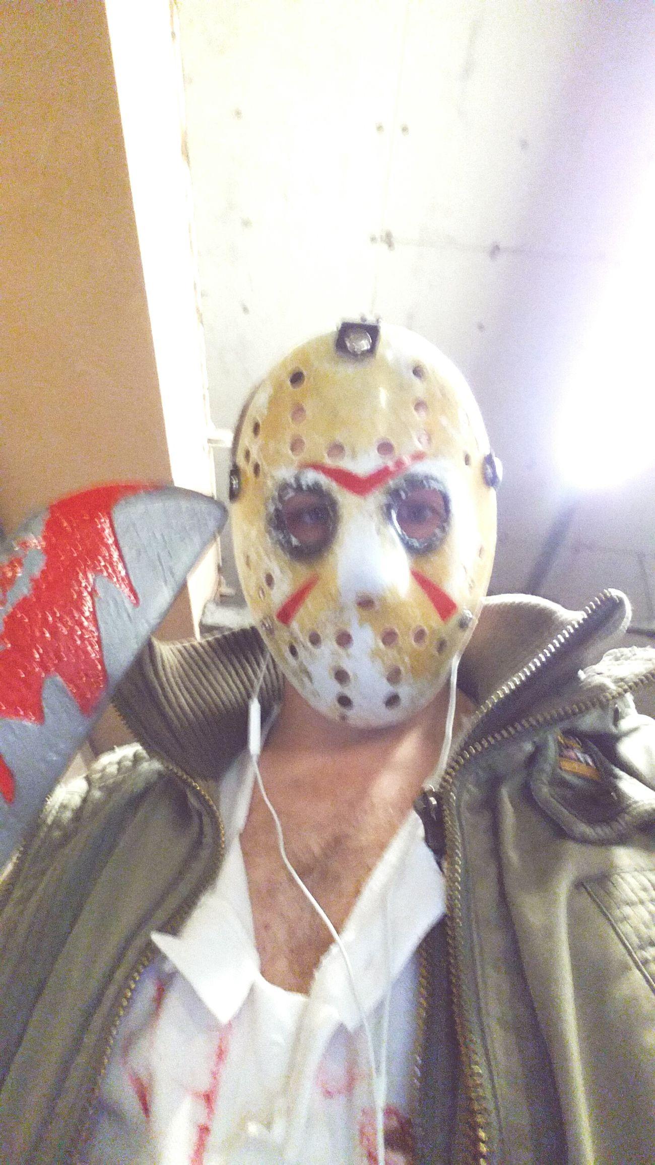 Halloween Jason Mask Masked Fridaythe13th Jasonvoorhees Scary Scary Man Face Mask Mask_Porn