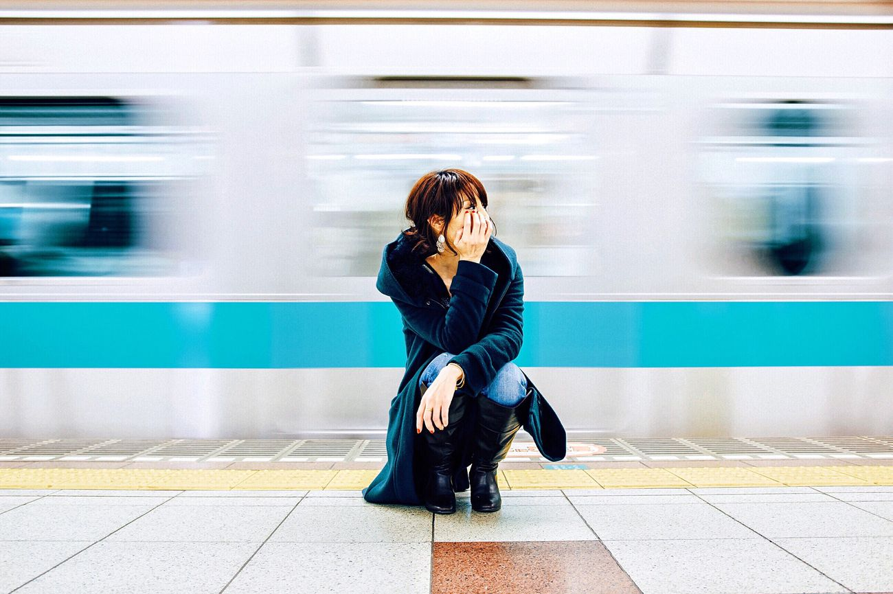subway Portrait Of A Friend Portraits EyeEm Portrait Of A Woman Color Portrait Beautiful Japan Faceless Portrait Canon Tokyo EyeEm Best Shots Creative Light And Shadow Light And Shadow Creativity Bestoftheday Subway Street Walking Around Street Photography Night Lights Cool Streetphotography Streetphoto_color VSCO