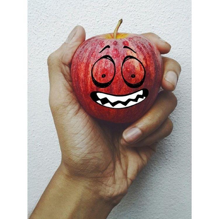 Red apple is nervous for Maldives. AfcChallengeCup