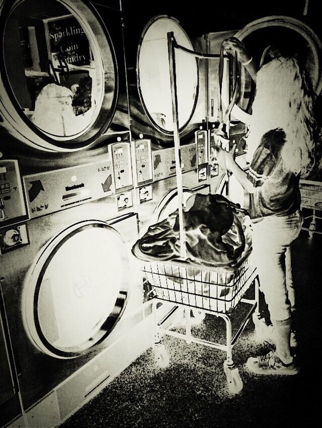I Hate Laundry. So i Inverted the exoerience for your viewing pleasure! Lost Weekend ... Spent quarters... I'll Snap Anything!