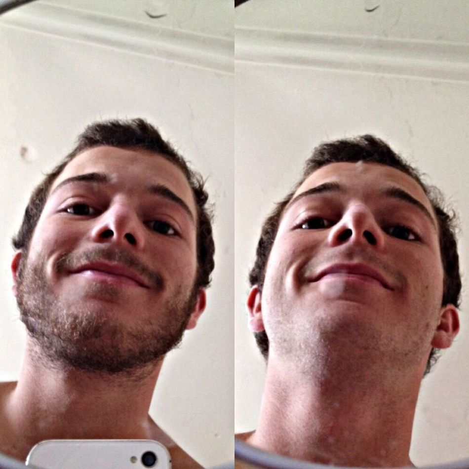 Me aburrió la barba :P Shaved Beard Today's Hot Look That's Me Taking Photos Hi!
