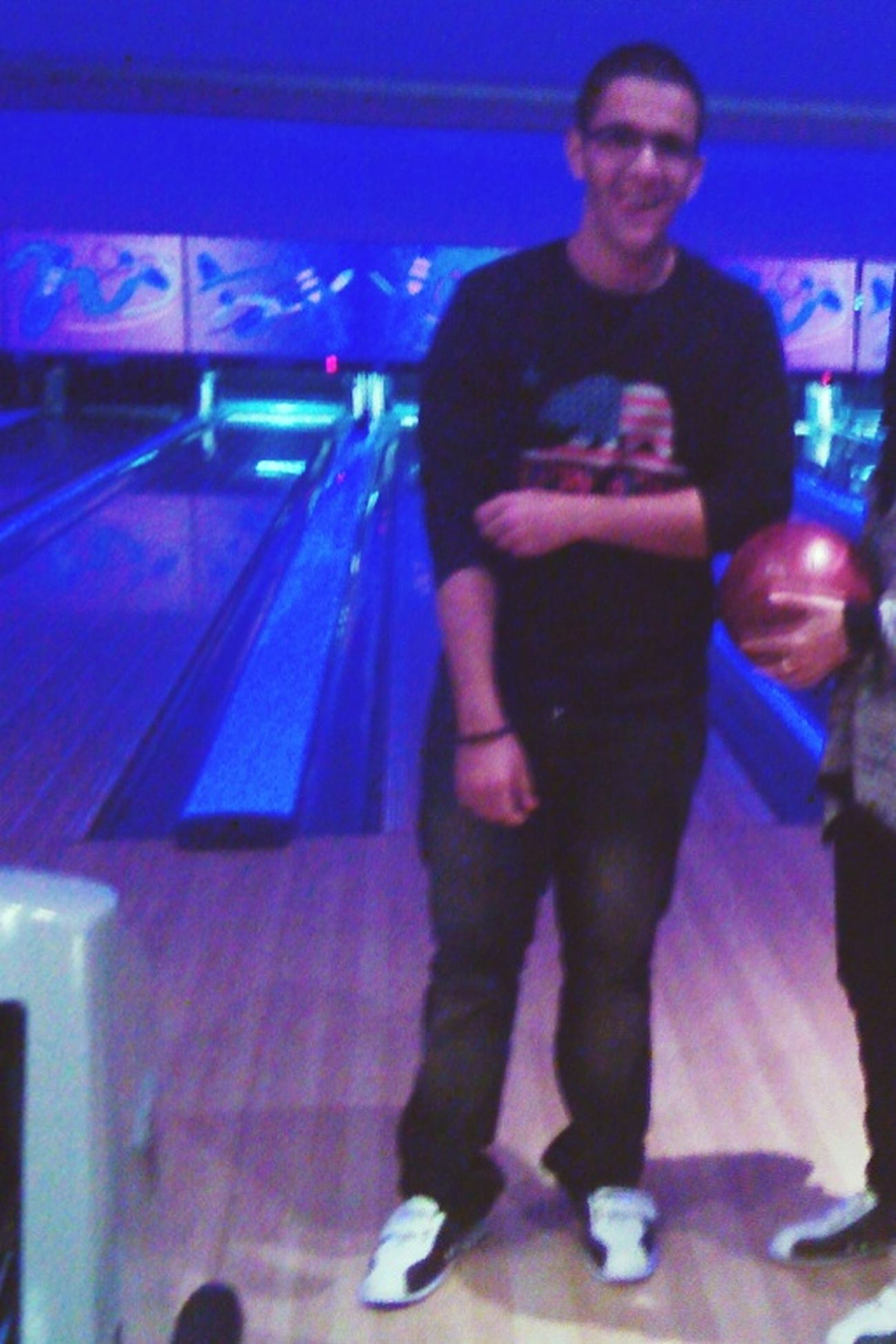 Hahaha havin fun bowling day
