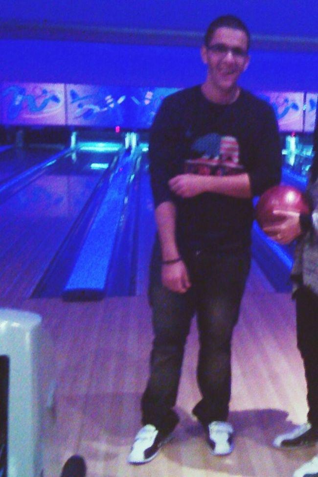 Hahaha havin fun bowling day