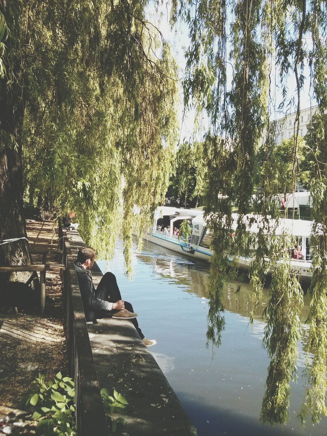 Beautiful stock photos of berlin, Bench, Berlin, Boat, City