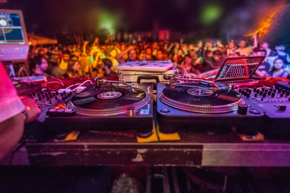 Beautiful stock photos of decks, Arts Culture And Entertainment, Audio Equipment, Celebration, Circle
