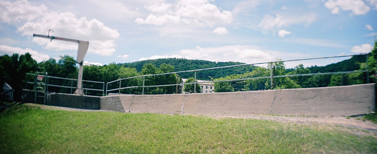 Film Sprocket Rocket Panorama Architecture No People Koduckgirl Railing