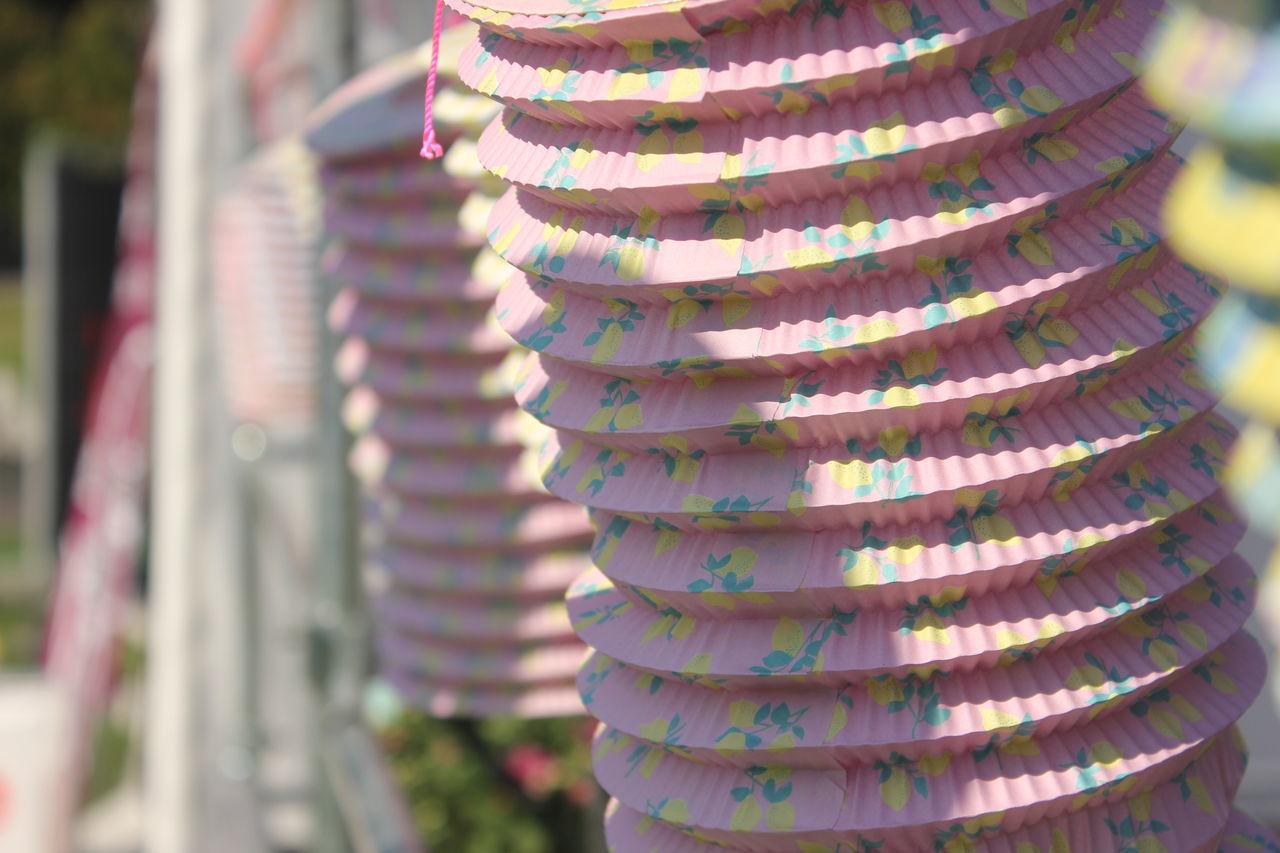 Close-Up Of Hanging Lanterns