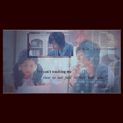 I love this drama , this is one of my designs  Photoshop K-drama