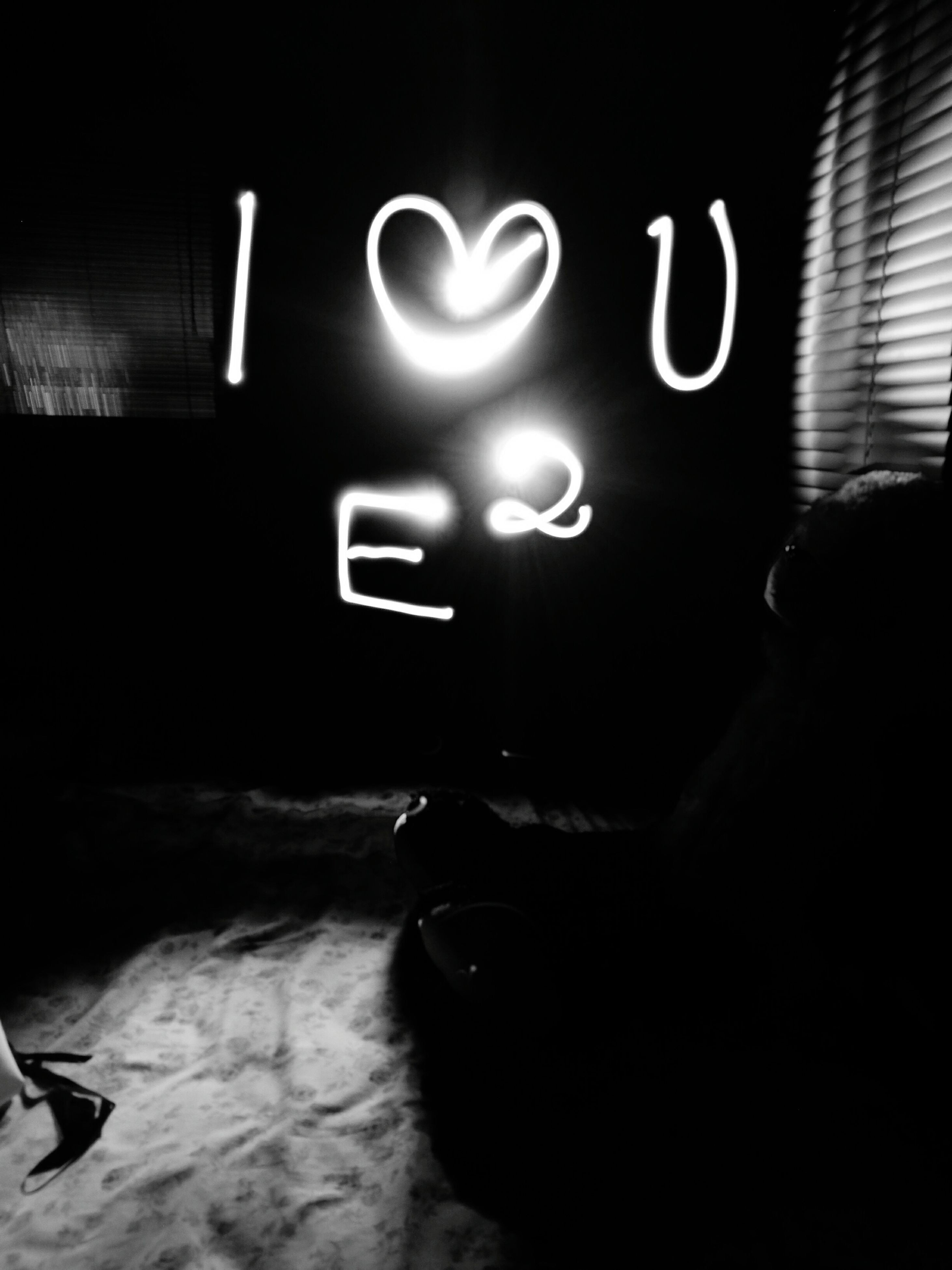 illuminated, real people, heart shape, indoors, night, one person, close-up, men
