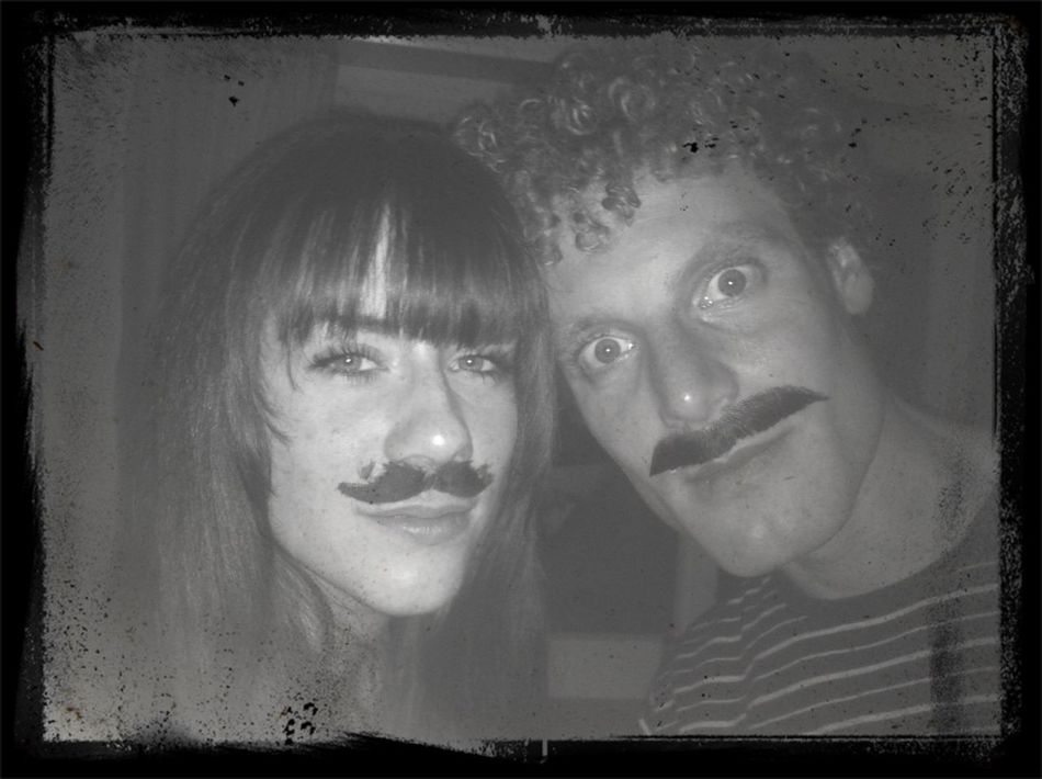 Moustache We Had Fun I Feel The Seriousness Seep In