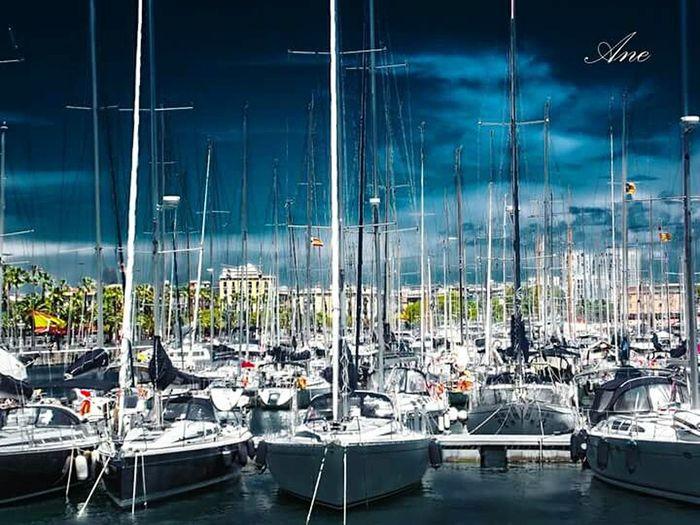 Barcelona Port De Barcelona  Boats Catalunya Summer