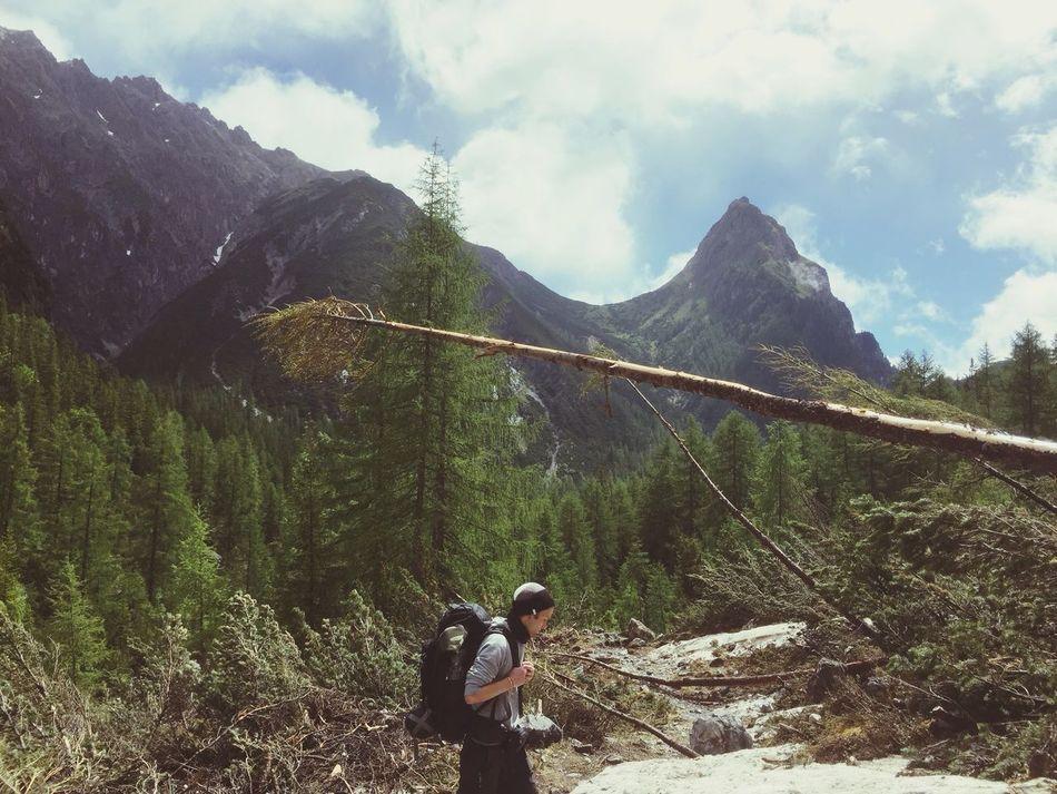 Feel The Journey E5 Hiking❤ Hiking Trail Hikingadventures Hiking Wandern Berge Mountains Mointain View Alpes Alps Adventure