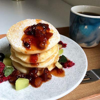 Pancakes Confituredenoel Figgjonorway