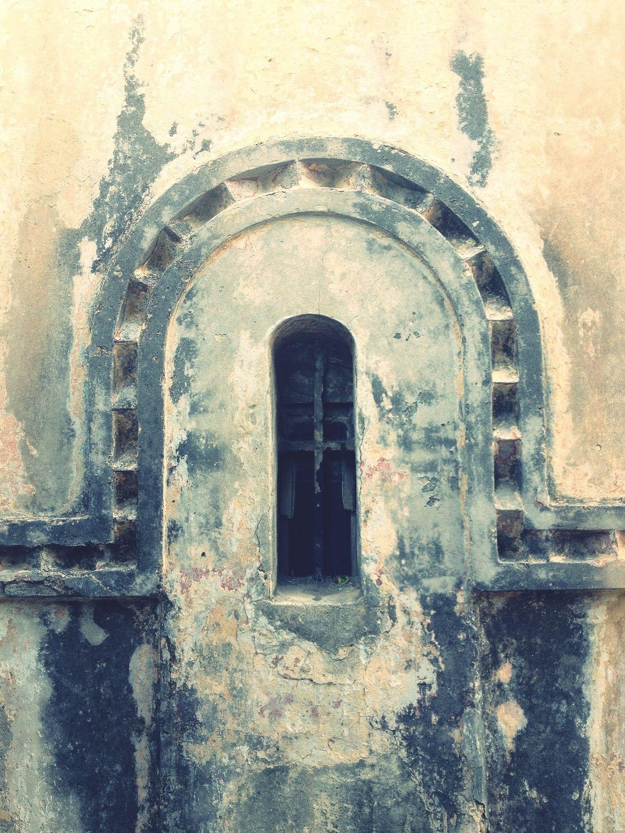 Byzantine Cloisonée Nave Window