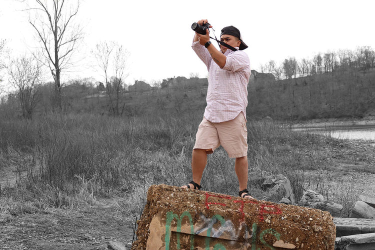 Adult Adults Only Arkansas Asian  Black & White Can Canoneosrebelt6i Capture The Moment Chacos EyeEm Nature Lover EyeEmNewHere Graffiti Graffiti Art Graffiti Wall Landscape Laotian People Leisure Activity Monte Ne Monte Ne Arkansas One Person Outdoors Photographer Photography Themes Water Waterfront