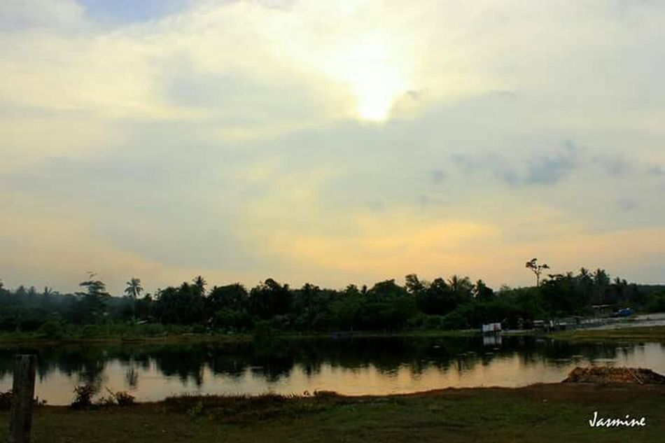 Day change night... Kampungku Chenderong, Perak just love this Romance I Miss My Kampung EyeEm Nature Lover Nature Photography Relections Landscape_photography Canonphotography