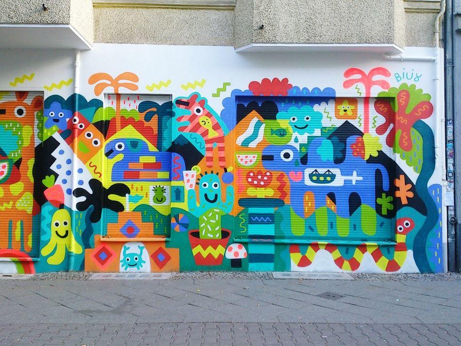 Berlin Neukölln Streetart Graffiti Urban Architecture Colors Colormeamazed Meinkiez